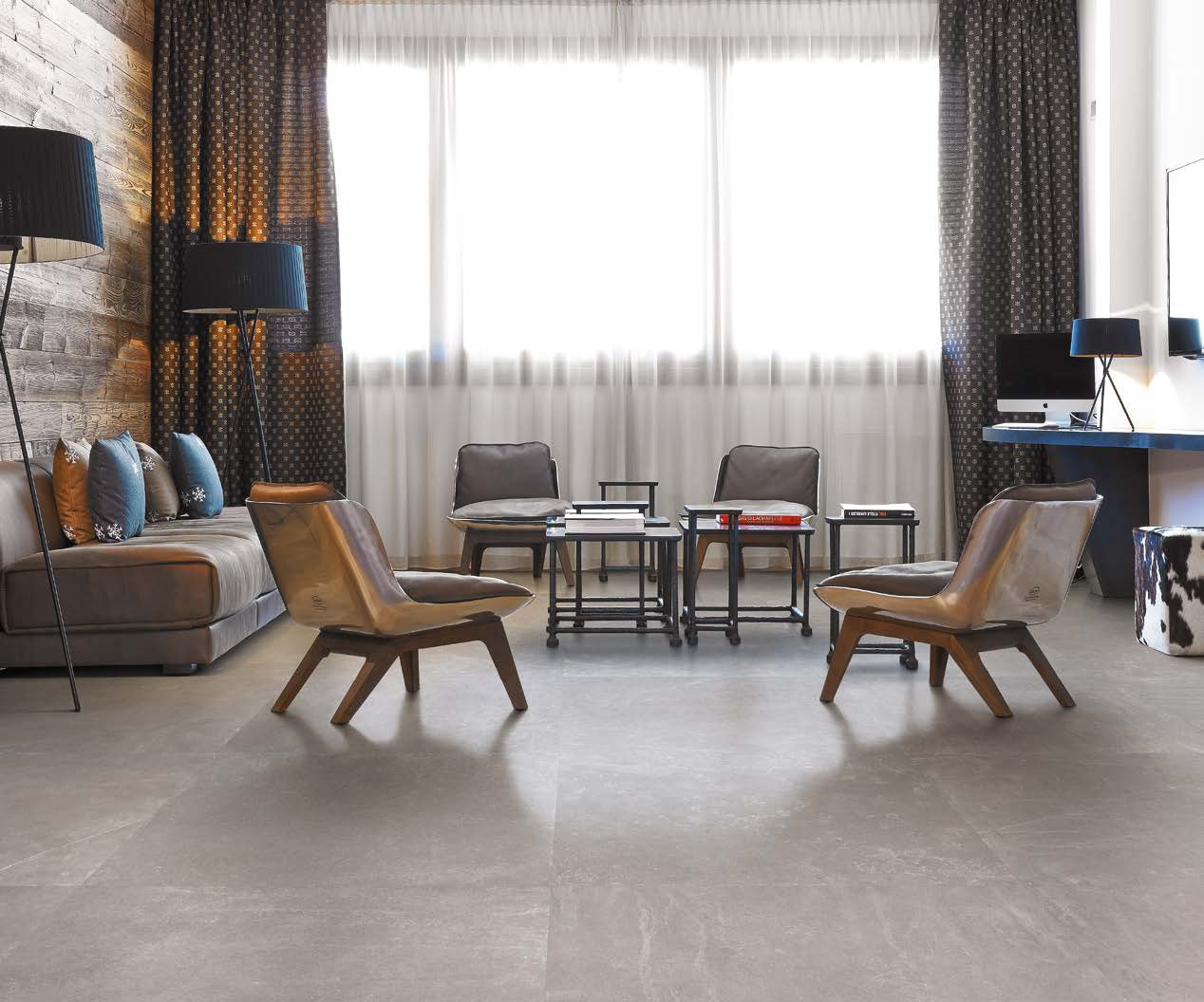 Provenza - Groove - Groove Bright Grey 80x80